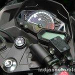 Kawasaki Ninja 300 KRT Winter Test instrumentation at Thai Motor Expo