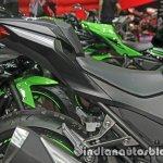 Kawasaki Ninja 300 KRT Winter Test seat at Thai Motor Expo