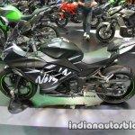 Kawasaki Ninja 300 KRT Winter Test side at Thai Motor Expo