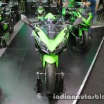 Kawasaki Ninja 650 front at Thai Motor Expo