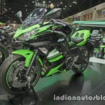 Kawasaki Ninja 650 front three quarter at Thai Motor Expo