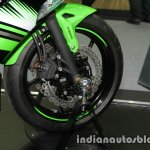Kawasaki Ninja 650 front wheel at Thai Motor Expo
