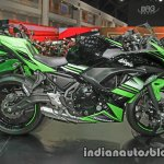 Kawasaki Ninja 650 side at Thai Motor Expo