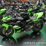 Kawasaki Ninja 650 side left at Thai Motor Expo