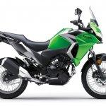Kawasaki Versys X250 City green side right