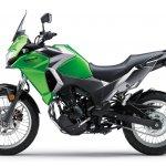 Kawasaki Versys X250 City green side