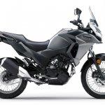 Kawasaki Versys X250 City grey side right