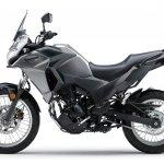 Kawasaki Versys X250 City grey side