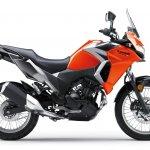 Kawasaki Versys X250 City orange side right