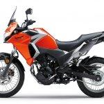 Kawasaki Versys X250 City orange side