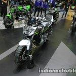 Kawasaki Z650 front three quarter left at Thai Motor Expo