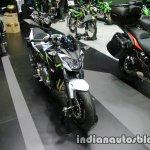 Kawasaki Z650 front three quarter right at Thai Motor Expo