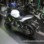Kawasaki Z650 rear three quarter at Thai Motor Expo