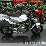 Kawasaki Z650 side at Thai Motor Expo