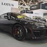 Lotus Evora 400 front three quarters at 2016 Bologna Motor Show
