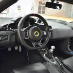 Lotus Evora 400 interior at 2016 Bologna Motor Show