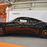 Lotus Evora 400 profile at 2016 Bologna Motor Show