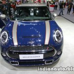 MINI Cooper S Seven Edition 3-DOOR front at 2016 Thai Motor Expo