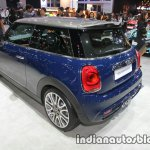 MINI Cooper S Seven Edition 3-DOOR rear three quarters left side at 2016 Thai Motor Expo