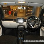 Maruti Ignis dashboard unveiled