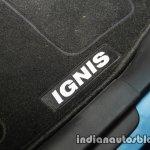 Maruti Ignis floor carpet unveiled