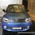 Maruti Ignis headlamp grille bumper unveiled