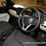 Maruti Ignis interior unveiled
