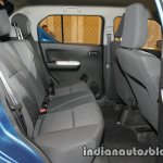 Maruti Ignis rear seat unveiled