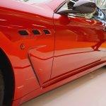 Maserati GranTurismo MC Stradale Centennial Edition fender vents at 2016 Bologna Motor Show