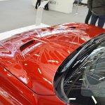 Maserati GranTurismo MC Stradale Centennial Edition hood vents at 2016 Bologna Motor Show