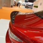 Maserati GranTurismo MC Stradale Centennial Edition rear-lip spoiler at 2016 Bologna Motor Show