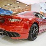 Maserati GranTurismo MC Stradale Centennial Edition rear three quarters at 2016 Bologna Motor Show