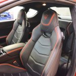 Maserati GranTurismo MC Stradale Centennial Edition seats at 2016 Bologna Motor Show