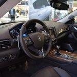 Maserati Levante interior at 2016 Bologna Motor Show