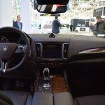 Maserati Levante interior dashboard at 2016 Bologna Motor Show