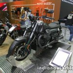 Moto Guzzi Audace front three quarter at Thai Motor Expo
