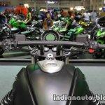 Moto Guzzi Audace handlebar at Thai Motor Expo