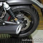 Moto Guzzi Audace rear wheel at Thai Motor Expo