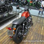 Moto Guzzi V7 II Stone rear three quarter at Thai Motor Expo