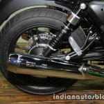 Moto Guzzi V7 II Stone rear wheel at Thai Motor Expo
