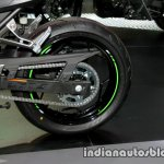 New Kawasaki Ninja 300 rear wheel at Thai Motor Expo