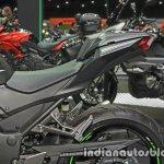 New Kawasaki Ninja 300 tail section at Thai Motor Expo