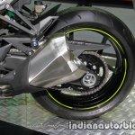 New Kawasaki Z1000 exhaust at Thai Motor Expo