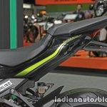 New Kawasaki Z1000 seat at Thai Motor Expo