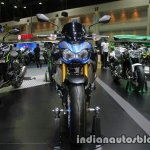 New Kawasaki Z900 front at Thai Motor Expo