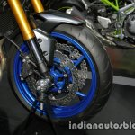 New Kawasaki Z900 front wheel at Thai Motor Expo