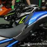 New Kawasaki Z900 seat at Thai Motor Expo