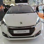 Peugeot 208 GT Line front at 2016 Bologna Motor Show