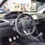 Peugeot 208 GT Line interior at 2016 Bologna Motor Show