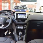 Peugeot 208 GT Line interior dashboard at 2016 Bologna Motor Show
